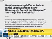 TVN24 przerywa konferencję kłamstw ministra Ziobry i prostuje jego brednie