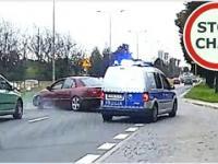 Policyjny pościg za Oplem w Białymstoku