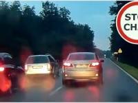 Zatrzymanie obywatelskie pijanego kierowcy w Lexusie