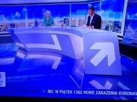 """Wpadka prezentera Polsatu News: """"Ku..a, to w kategoriach planety!"""""""