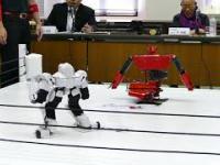 Walki japońskich robotów na ringu