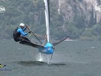 Regaty na włoskim jeziorze Garda - Italiano Open Moth 2021
