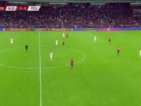 Polska wygrywa z Albanią 1:0. Zwycięstwo Biało-Czerwonych na gorącym terenie