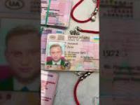 Prawo jazdy Andrzeja Dudy do kupienia na bazarze w Kijowie