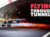 Dario Costa przeleciał samolotem przez dwa tunele i pobił 5 rekordów świata