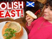 Szkot testuje polskie jedzenie w Edynburgu