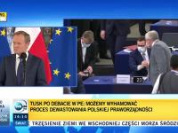 """Funkcjonariusz TVPiS do Tuska: """"Dlaczego PO chce POLEXITU""""?"""