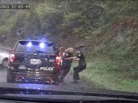 Czujny policjant ratuje partnerkę w ostatnim momencie
