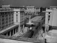 Budowa MDM w Warszawie, lata 1950-e