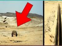Na pustyni w Egipcie odkryto tajemnicze wejście pod ziemię