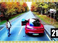 Panicz w Porsche