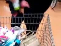 Złapana na kradzieży w sklepie