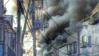 Film z akcji straży pożarnej