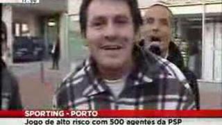 Przy meczu Sporting - Benfica