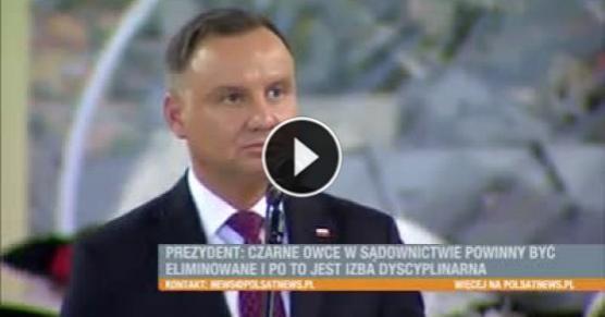 Andrzej Duda - teatralne przemówienie i agresja - milanos.pl